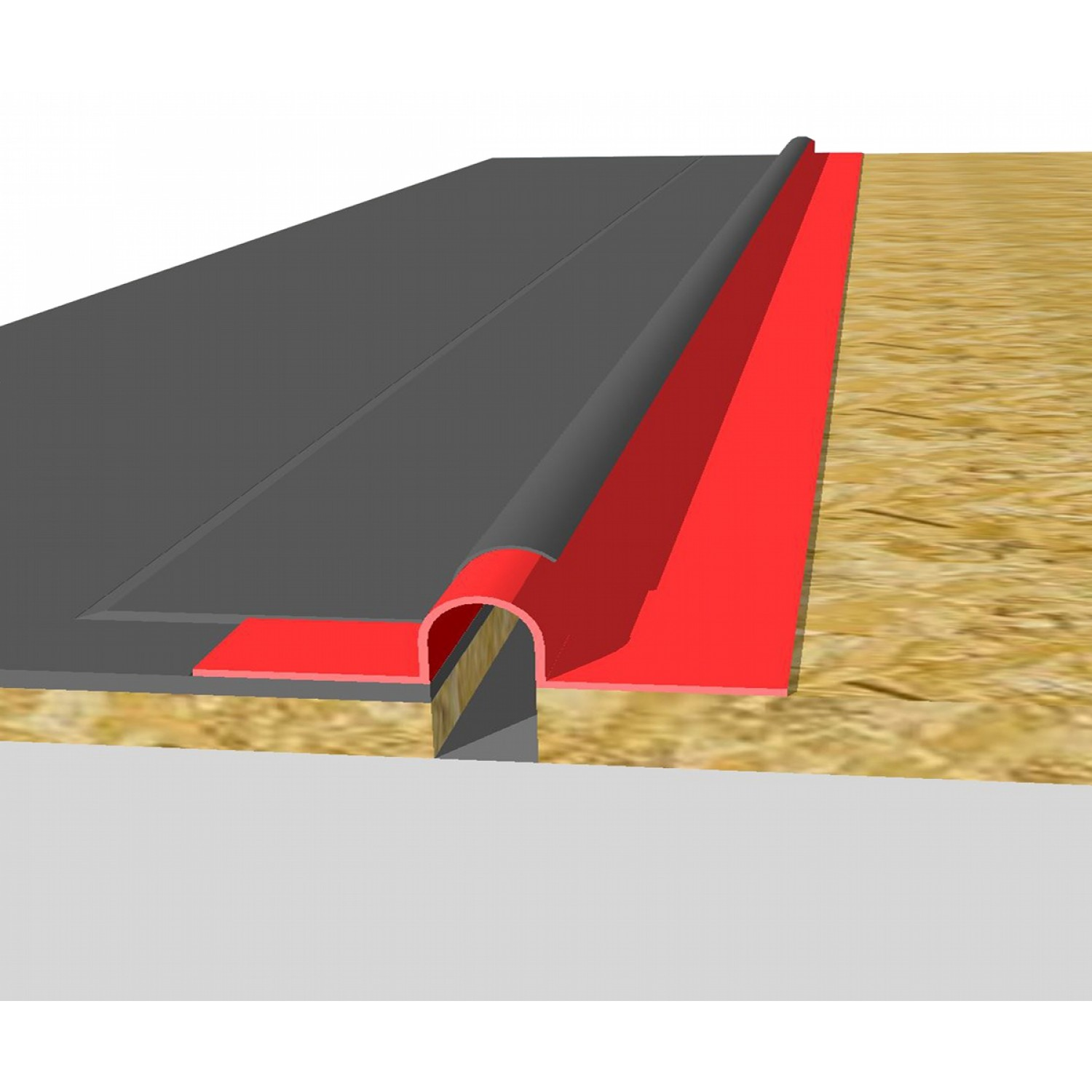 E280 Liquiflex Expansion Joint Ridge Roll Buy From