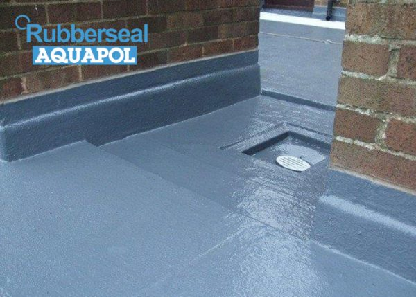 Rubberseal Aquapol finished roof