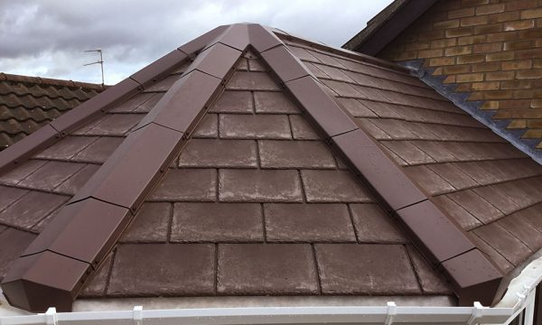 Metrotile 5 way Junction on a finished roof